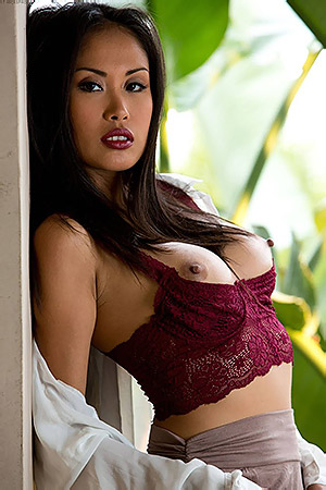 Danika Flores Removes Her Clothes