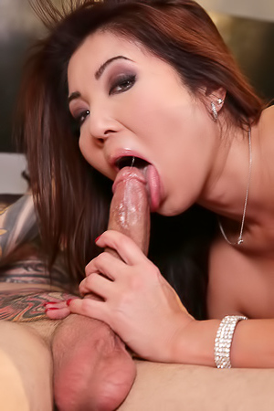Busty Asian Model Getting Fucked Hard