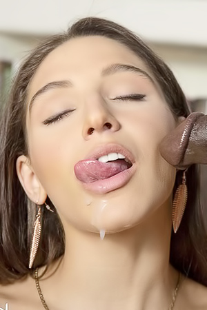 Abella Danger Making Cock Cum