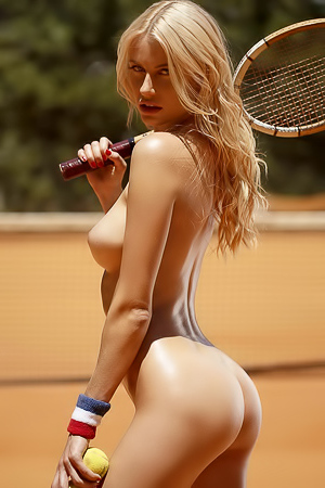 Hot Tennis Player Olga De Mar