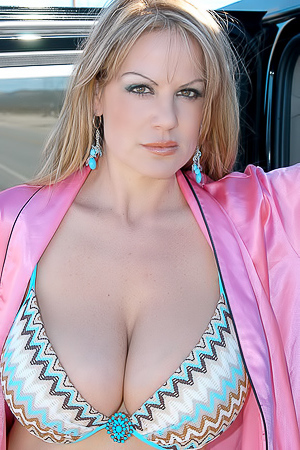 Kelly Madison In Desert