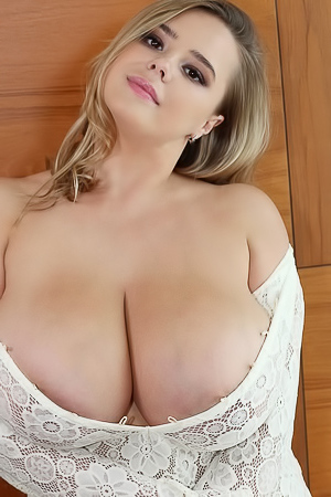 Vivian Blush Fancy Big Boobs