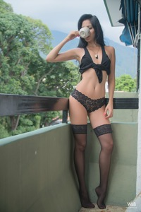 Atenas Sexy Babe In Lingerie