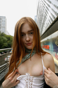 Jia Lissa Redhead Babe With Cosmic Energy